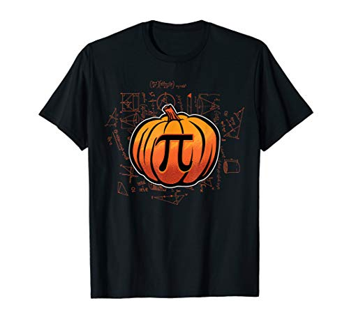 Pumpkin PI Funny Math Lover/Nerd Teacher Student Halloween T-Shirt]()
