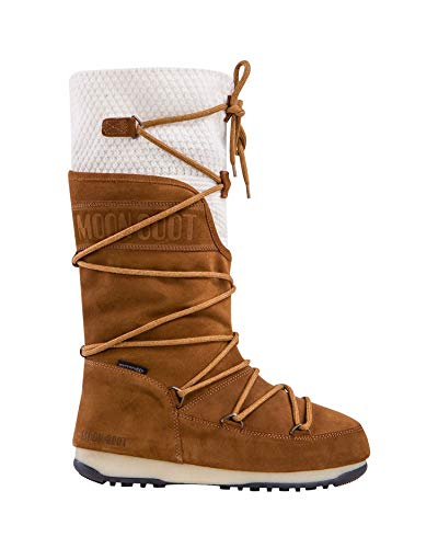 6857291fea28e Moon Boot WE Anversa Wool WP Womens Boots 8.5 B(M) US Women Whisky