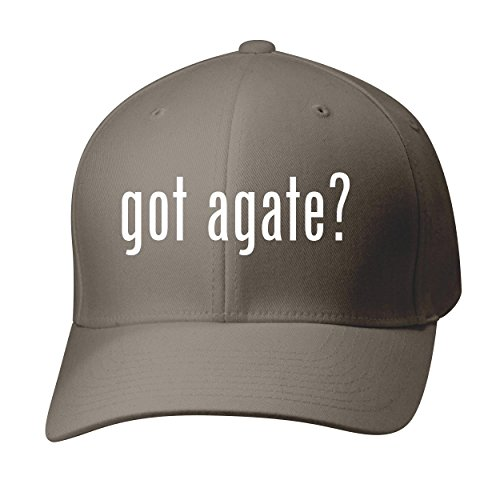 BH Cool Designs Got Agate? - Baseball Hat Cap Adult, Dark Grey, Small/Medium -