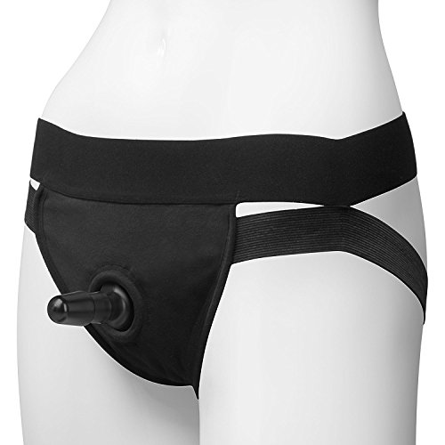 Shanhaiac-U-Lock - Panty Harness with Plug - Dual Strap - Compatible with all Vac-U-Lock Dildos - Small/Medium by Shanhai