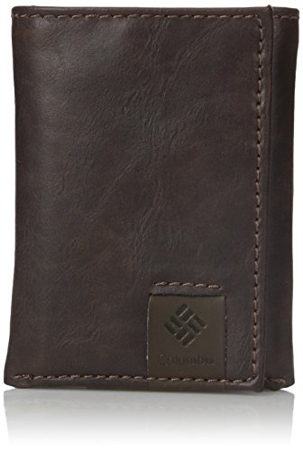 Columbia Men's RFID Blocking Lofton Trifold Security Wallet,Brown,One Size ()