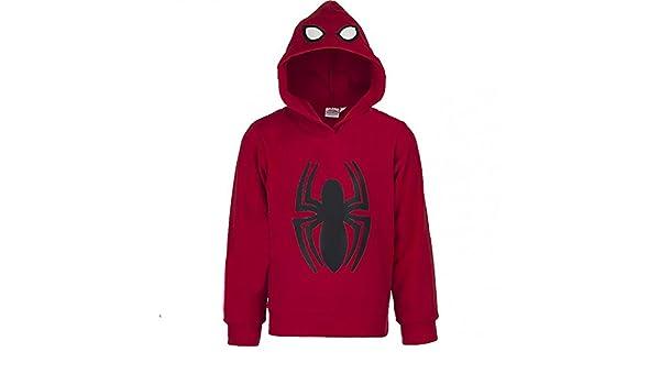 Spiderman Marvel Chándal - para niño Rojo 122 cm: Amazon.es: Ropa ...