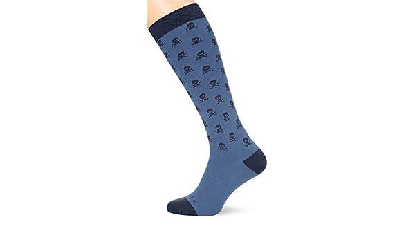 Scalpers Skull Socks 05:Indigo, Calcetines para Hombre, Unica: Amazon.es: Ropa y accesorios