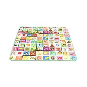 Best Baby Gym Double Sided Water Proof Play Mat Carpet