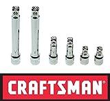 "Craftsman 6 Piece 1/2"" Drive Extension Bar Set - 1-1/2"", 3"" and 6"""