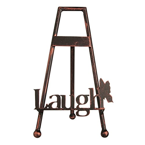 [Bloomfield Plate Stand By Grasslands Road (Laugh)] (Bronze Easel Stand)