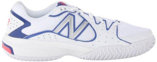 888098093469 - New Balance Women's WC786 Tennis Shoe,White/Pink,6 D US carousel main 5