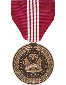 Army Superior Civilian Service Award Full Size Medal