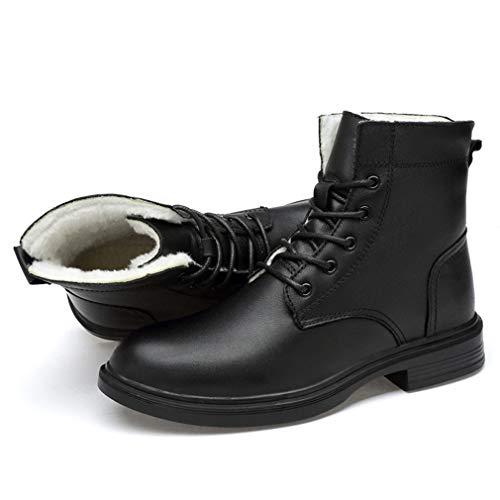 Terciopelo Caliente Los Otoño Botas invierno 39 Negocios Hombres De Nuevo Martin Gfphfm Más Alto b top Algodón Zapatos Mantener Cuero Botas wfPUnnq84