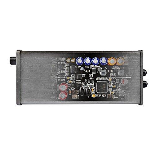 DEAFidelity Elfidelity DSD DAC integrate Audio Headphone Amplifier, Desktop USB Digital Analog Convertor, External PC Soundcard, Support DSD 256 direct decoding by DEAFidelity (Image #3)