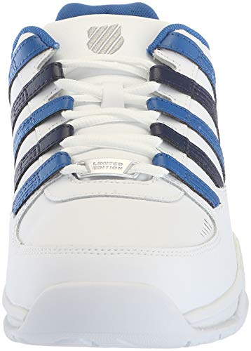 navy Basso swiss 175 Blue Pantofole A white Uomo Collo K Baxter classic Bianco SXxwCPqP