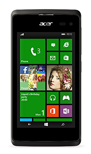 Acer Liquid M220 Windows 8.1 Smartphone - Black