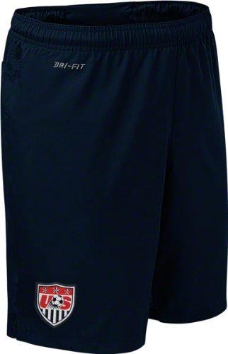 f25442a38 Amazon.com : United States Soccer Navy Nike Away Shorts : Sports Fan ...