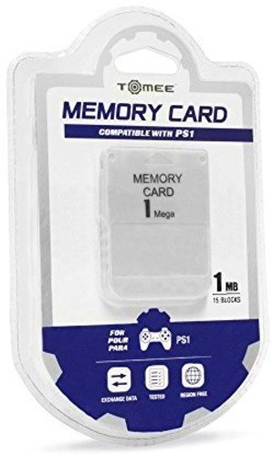 Tomee 1MB Memory Card PS1 PlayStation