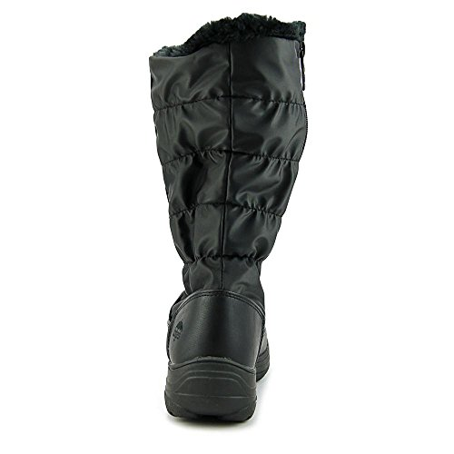 Totes and Snowboot Cam Womens Wide Fit Black Calf Wide in Available Foot p0nWpr1BA