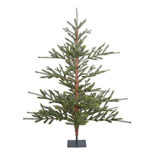 Vickerman G152250 Unlit Bed Rock Pine Artificial Christmas Tree, 5' x 54'