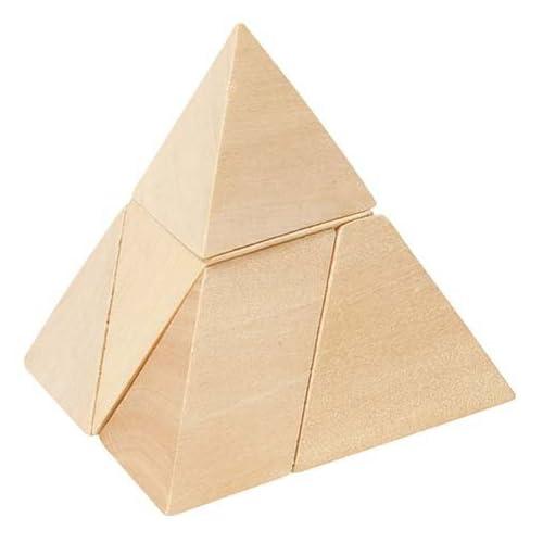 Jouetprive-Puzzle de la Pyramide à 3 côtés