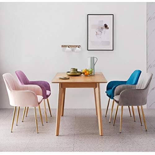 Matstol LHY- Stol enkel student skrivbord och stol makeup dator pall hemma bekväm (färg: grå)