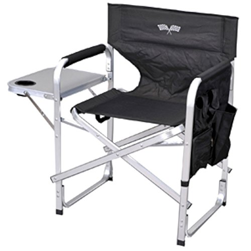 Ming's Mark SL1204BKFL Directors Chair with Table (Mings Mark Directors Chair)