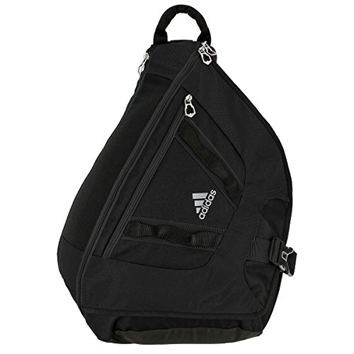 adidas Capital Sling Backpack, Black/Grey, One Size