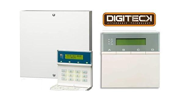 Scantronic 9651EN41 Panel de alarma con teclado remoto 8 ...