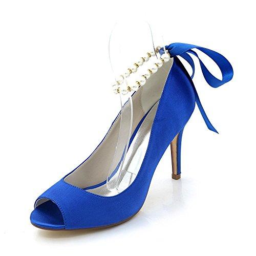 Multicolor Boda Blue Toe Las Peep Y Personalizado Sandalias Mujeres Club Noche Altos Zapatos yc L Vestido De Tacones wqZgvfT