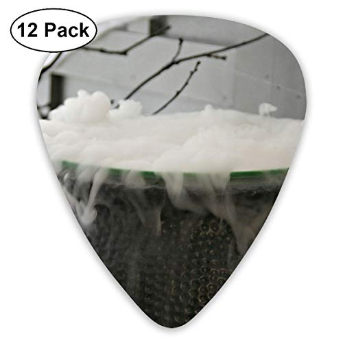 HOOAL Custom Guitar Picks, Halloween Witches Brew Kettle Guitar Pick,Jewelry Gift For Guitar Lover,12 Pack