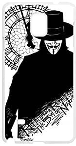 Raging fire£¨ TM £©Fashion V for Vendetta for samsung galaxy note4 Cell Phone Cases Cover Popular Gifts