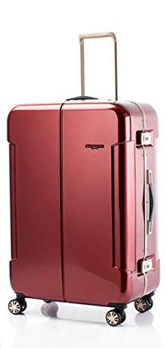 [ヒデオワカマツ] スーツケース ナロー2 ハードキャリーケース 容量90L Lサイズ69cm 重4.4kg 85-76380 B078C5G1G3 ワイン