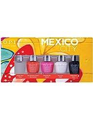 OPI Nail Polish Mexico City Collection, Gift Set, Infinite Shine 5pc Mini-Pack