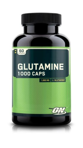 Optimum Nutrition Glutamine 1000mg Capsules