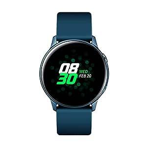 """Samsung Galaxy Watch Active – Smartwatch (1,1"""",40mm, Tizen, 768 MB de RAM, Memoria Interna de 4 GB), Color verde – Versión Española"""