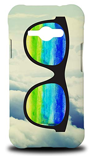 e Glasses #2 Hard Phone Case Cover for Samsung Galaxy J1 Ace ()