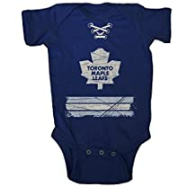 NHL Toronto Maple Leafs Beeler Vintage Infant Jersey Creeper, 6-Months, Navy