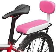 Lixada Bicycle Back Seat Cycling Bike Bicycle MTB PU Leather Soft Cushion Rear Rack Seat Children Seat with Ba
