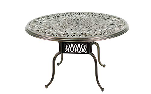 Patio Premier 213012 Caspian Cast Aluminum Antique Patio 48