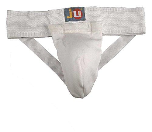 Ju-Sports Tiefschutz Stoff, schwarz/weiß, XL, 6402004