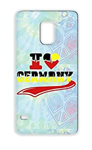 I Love Germany 3 Colors Cities Countries Flags Red Case Cover For Sumsang Galaxy S5