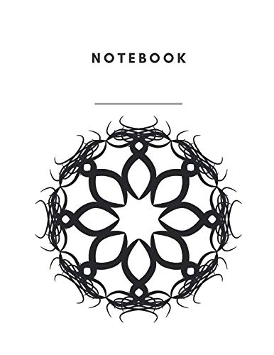 Notebook: Notebook Lined and Numbered 120 Pages Witch Lines Letter Size 8.5 x 11 - A4 Size Star Circle Symbol on Cover (Journal, Notes, Notebook, Diary, Composition Book) Soft Cover (A Symbol Circle Perfect)