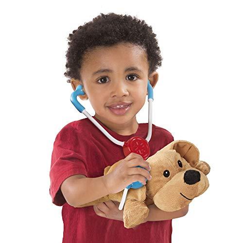 "41cFm%2BGogTL - Melissa & Doug Examine & Treat Pet Vet Play Set (Animal & People Play Sets, Helps Children Develop Empathy, 24 Pieces, 10.5"" H x 13.5"" W x 3.5"" L)"
