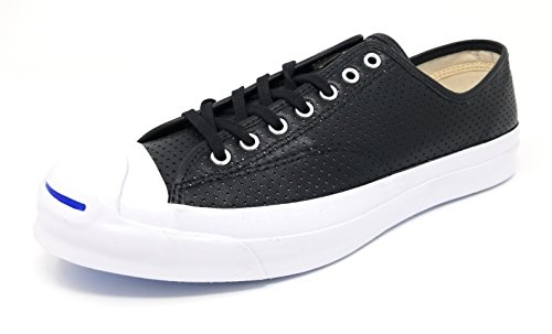 Converse JP Jack Purcell Signature Ox Black/White Mens Size 11 M - Jack Leather Converse Purcell