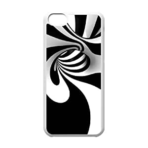 Colorful Stripes Design Unique Fashion Printing Phone Case for Iphone 5C,personalized cover case ygtg602645 by icecream design