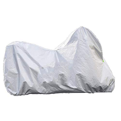 - ZZKJTANGYMTT Motorcycle Covers for Outside Storage, Electric Car Cover, Battery Car Clothing, Rain, Sun Protection, Sunshade, Flocking, Four Seasons Universal,180x89x122cm