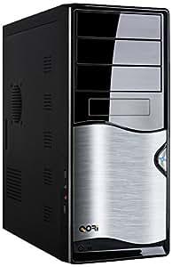 Codegen Q3343-A11 Full-Tower 460W Negro, Plata carcasa de ordenador - Caja de ordenador (Full-Tower, PC, Negro, Plata, 460 W, 182 mm, 424 mm)