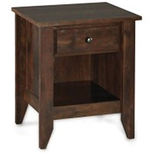 Leighton Night Stand, Rustic Cherry Finish from Better Homes & Gardens