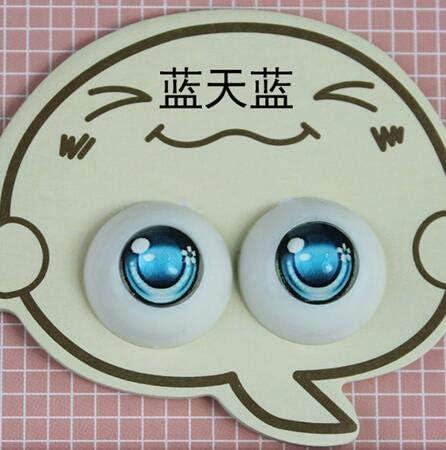 8MM Green Sphere Glass Eyes Round Eyeball for BJD Doll Makeup DIY Jewelry Craft