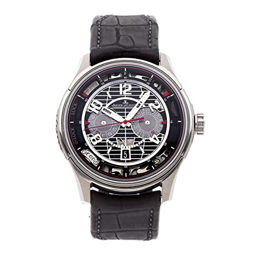 - Jaeger-LeCoultre Amvox Mechanical (Automatic) Black Dial Mens Watch Q194T470 (Certified Pre-Owned)