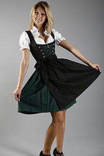Edelnice Trachtenmode - Vestido Dirndl - para mujer negro