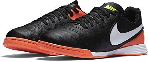 Nike 819190-018, Botas de Fútbol Unisex Adulto Negro (Black / White-Hyper Orange-Volt)