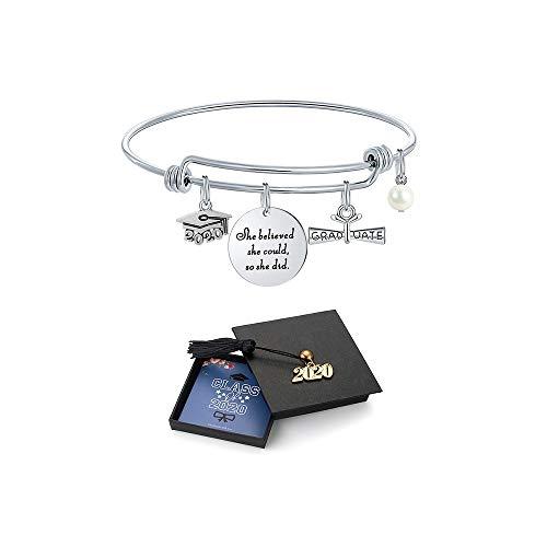 M MOOHAM Graduation Gifts for Her 2021, Senior Class of 2021 High School College Graduation Gifts for Women Girls Friend…